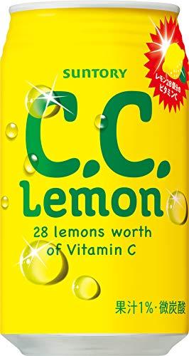 サントリー CCレモン 350ml×24本 [9451]