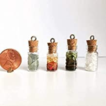 Water, Fire, Earth or Air Element Crystal Necklace Pendant