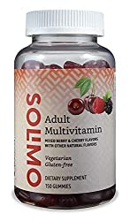 Amazon Brand - Solimo Adult Multivitamin, 150 Gummies, 75-Day Supply