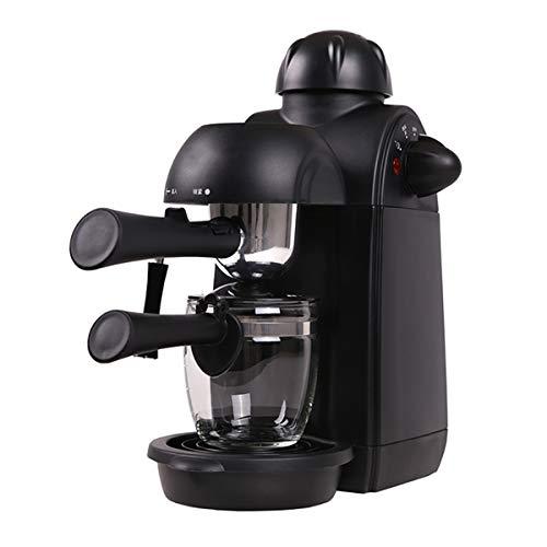 Kaffeemaschine,5 bar Dampfdruck, Hause Dampf-Kaffeemaschine Halbautomat mit Milchschaum Düse für Espresso Cappuccino Latte, 1-4 Tasse