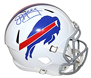 Jim Kelly Autographed/Signed Buffalo Bills Speed Replica Helmet JSA