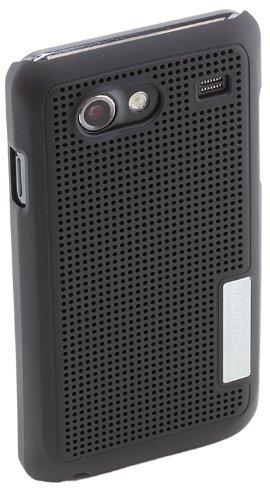 Anymode Samsung - Cusodia Vent Case per Galaxy Advance By, Colore: Nero