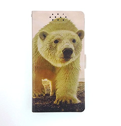 Stengh Archos Diamond Omega Hülle, Flip Phone Wallet mit Kartenschlitz, Standfunktion, magnetisch