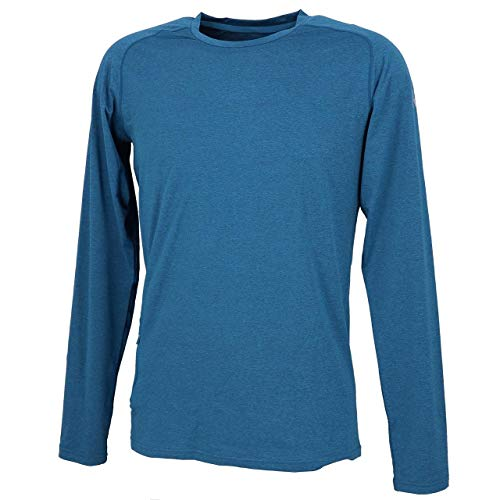 Rukka - Fritz Bleu Maillot Run - Tee Shirt Manches Longues - Bleu Marine/Bleu Nuit - Taille L