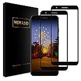 【2枚セット】Nimaso Google Pixel 3a 用 保護フィルム 液晶強化ガラス【全面保護】硬度9H/貼り付け簡単/気泡ゼロ/3D Touch対応/高透過率
