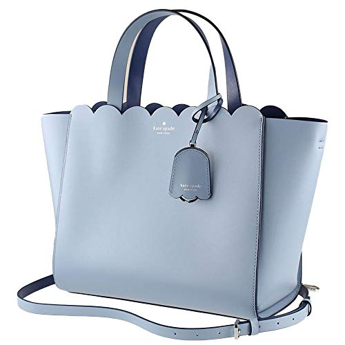 Kate Spade NY Magnolia Street Mina Tote Purse in Blue