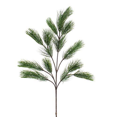 artplants.de Deko Pinien Zweig mit 18 Nadel, 90cm - Künstlicher Zweig - Kunstzweig