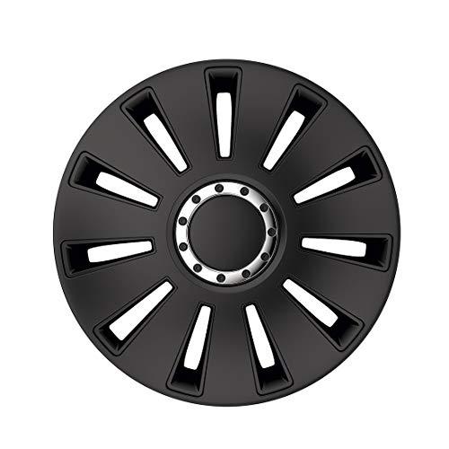 Radzierblenden/Radkappen Silverstone Pro Black 16 Zoll