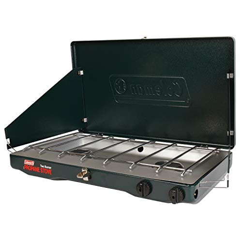 Coleman Gas Stove   Portable Propane Gas Classic Camp Stove with 2 Burners