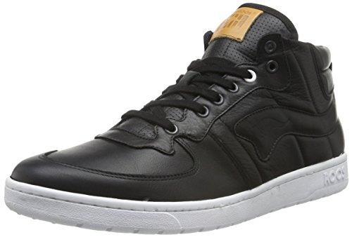 KangaROOS Herren Full-Court-Mid-Nappa Sneaker, Schwarz (blk 500), 46