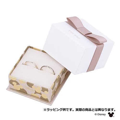 [ザ・キッス]THEKISSDI-SR1821PSP-1822SP(Lady's:9号Men's:11号)【ディズニーコレクション】隠れミッキー/2個セットシルバーペアリング男女ペアカップルクリスマス記念日誕生日プロポーズラッピング袋BOX付