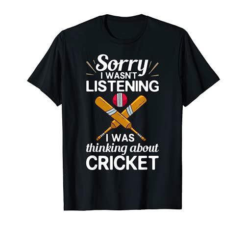 Jugador de juego de críquet Bat Coach Jugador de cricket Camiseta