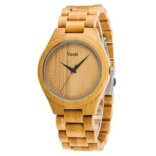 木製腕時計 竹 メンズ オシャレ クォーツ 軽量 アナログ 竹製 男性用 入学祝い シンプル プレゼント 贈り物 ギフトボックス付き 誕生日 木材 カジュアル 人気 ランキング