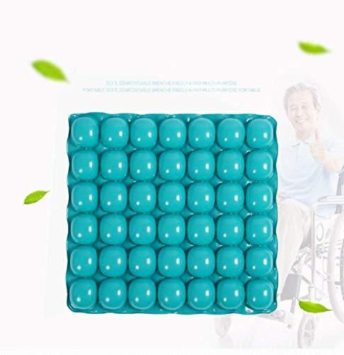 TGhosts Air Inflatable Cushion Anti-Dekubitus-Rollstuhl-Sitzkissen-Luftmatratze for längeres Sitzen
