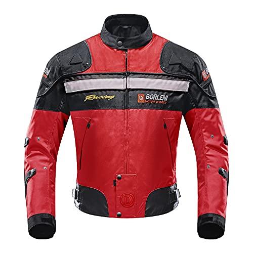 Motorcycle Jacket Motorbike Riding Jacket Windproof Motorcycle Full Body Protective Gear Armor Autumn Winter Moto Clothing