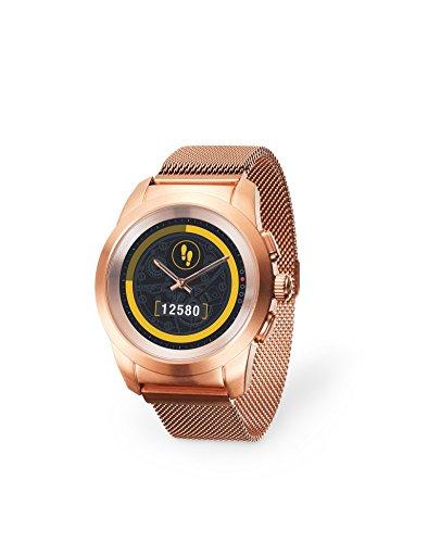 MYKRONOZ Smartwatch goud/roze