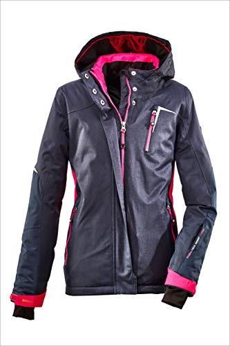 Killtec Mädchen Yamka Jr Ski Funktionsjacke, dunkelnavy, 176