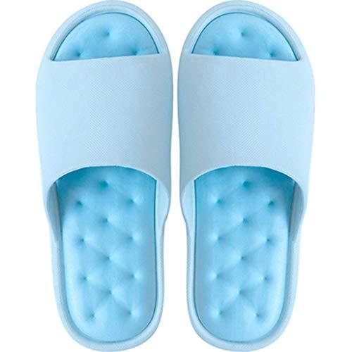 qazxsw Zapatillas Sandalia de Ducha Zapatillas Zapatillas de baño de Secado rápido Zapatillas Suela Blanda Punta Abierta Zapatillas de casa Chanclas de Playa Toboganes de Piscina