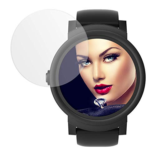 mtb more energy® Schutzglas für Ticwatch E (Express) / Suunto Spartan Trainer (Wrist HR) - 2.5D - Kratzfest - Glasfolie Tempered Glass