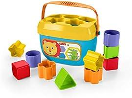 Fisher-Price - Bloques Infantiles, Juguete Bloques Construcción para Bebé +6 Meses (Mattel FFC84) , color/modelo surtido