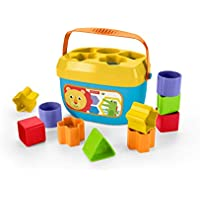 Fisher-Price disney Bloques infantiles, juguetes bebes 6 meses, multicolor, (Mattel FFC84)