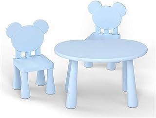 معدات يومية، مجموعة كراسي طاولة، الأثاث وغرفة النوم، وغرفة اللعب، متعددة الألوان، طاولة وكرسيين D