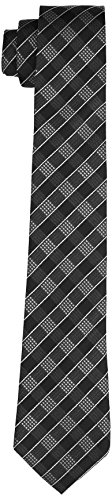 Daniel Hechter Herren TIE 7 CM Krawatte, Blau (Marineblau 670), 2 (Herstellergröße: 1)
