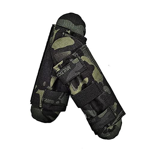 Paar Taktische Weste Schultergurte Schulterpolster Komfortpolster Schutzpolster Militär Airsoft Weste Ausrüstung asaa-97