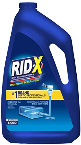 Rid-X RID-X Septic Tank Treatment Enzymes, 6 Month Supply Liquid,...
