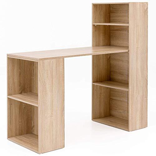 Wohnling WL5.693 Schreibtisch, Holz, Sonoma, 120 x 120 x 53 cm