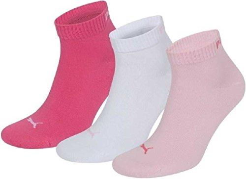 PUMA Unisex Quarters Socken Sportsocken 6er Pack pink lady / pink lady 422 - 35/38