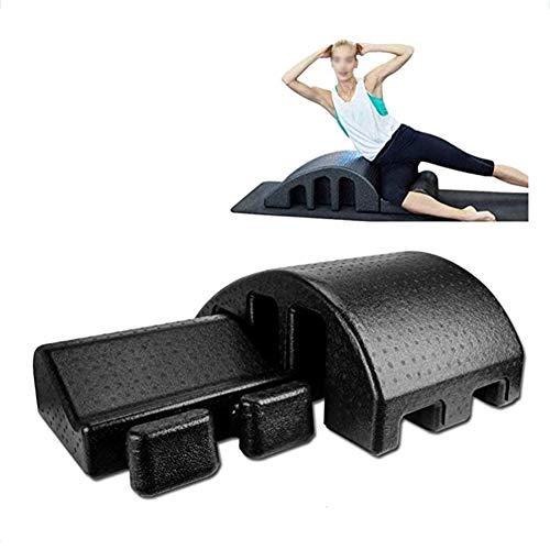Yoga Mesa Quiropráctica, La Médula Ortopédico - Spine Alineadores Pilates Mesa De Masaje para Las Personas con Dolor De Cuello, Dolor De Espalda, Equipo De Yoga Alivio De Dolor De Espalda