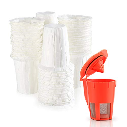 MG Coffee Disposable Paper filter for K-carafe 2.0 Reusable Filter, set of 100