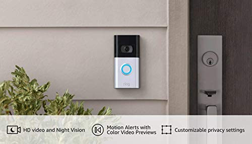 All-new Ring Video Doorbell 4 – improved 4-second color video previews plus easy installation, and enhanced wifi – 2021 release
