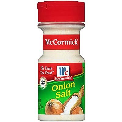 McCormick Onion Salt (526561) 5.12 oz (Pack of 3)