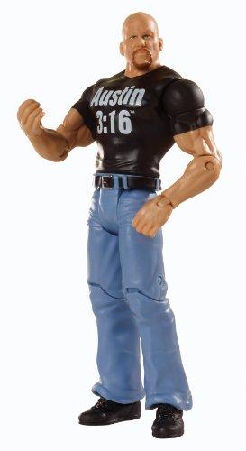 Figurine Steve Austin en Pierre des Champions du Monde de la WWE
