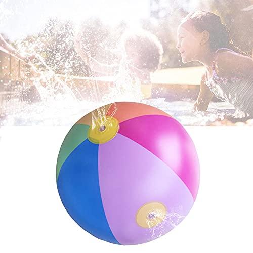 Sprinkler Wasserspielzeug Inflatable Water Spray Ball Aufblasbare Strandbälle Wasser Sprayball Kugel PVC Splash Kid Beach Ball Outdoor Spielzeug Wasserfontäne