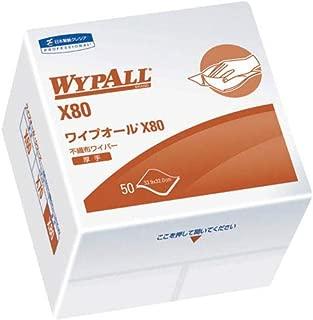 クレシア ワイプオールX80 4つ折 60580-2048 【3927725