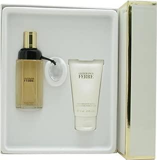 Ferre By Gianfranco Ferre For Women. Set-edt Spray 1.7 OZ & Body Lotion 2.5 OZ
