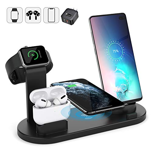 Show wish Wireless Charger Stand, 6 in 1 Multi Function