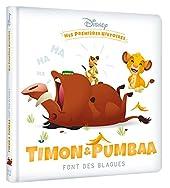 DISNEY BABY - Mes premières histoires - Timon et Pumbaa font des blagues de Jeunesse disney Hachette