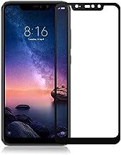 واقي شاشة لهاتف Xiaomi Redmi Note 6 Pro ثنائي شريحة الاتصال 6.26 بوصة زجاج مقاوم للصدمات وواقي شاشة 9H صلابة