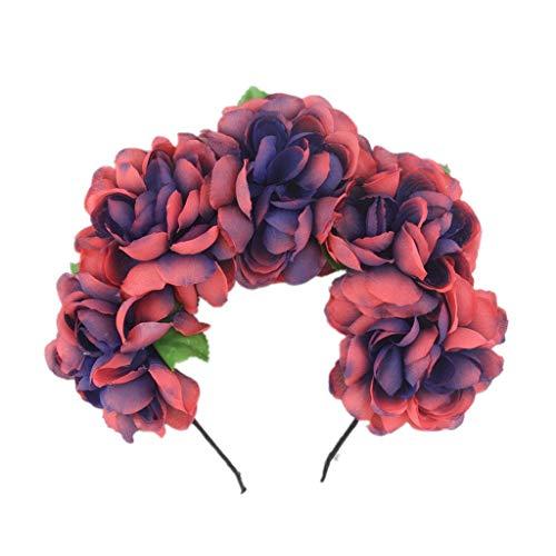 cinnamou Diademas Mujer, Halloween Cinta De Flores Para El Pelo Headband Printed Headbands Banda Para El Cabello De Halloween Accesorios Para El Cabello EláSticos 1 Pc
