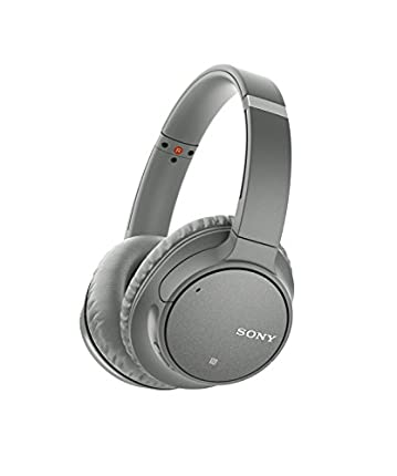 Sony WH-CH700NH - Auriculares inalámbricos (Bluetooth, NFC), color gris