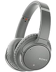 Sony WH-CH700N Trådlösa Brusreducerande Hörlurar (Bluetooth, Upp Till 35 Timmars Batteri, Snabbladdningsfunktion, NFC, Amazon Alexa, Headset med Mikrofon för Telefon och Dator/Laptop) Grå
