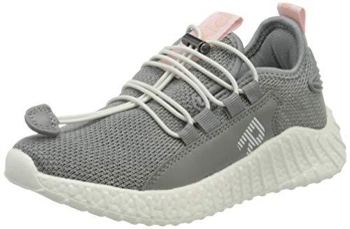 Richter Kinderschuhe Mädchen Taylor Sneaker, Grau (Light Grey/Potpourri 6110), 34 EU