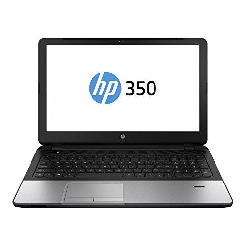 HP 350 G2 (L7Z80ES) 39,6 cm (15,6 Zoll) Business Laptop (Intel Core i7-5500U, 3,0 GHz, 8GB RAM, 1000GB HDD, AMD Radeon R5 M240 mit 2GB DDR3, FreeDOS) silber/schwarz