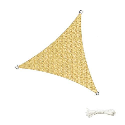 Toldos Sombreado Neto Paño Protector Solar Red De Parasol Negro Toldos Cifrado Triangular Bloqueador Solar Terraza Patio Aislamiento Transpirable Tingting