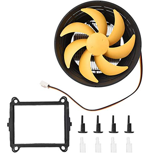 Ventilador de refrigeración de CPU de 12 cm, disipador de Calor de Calor rápido, disipador de Calor de PC, Ventilador de refrigeración de disipación de Calor de CPU para PC, Caja de Ordenador