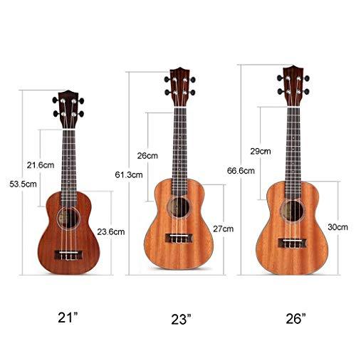 CHOYE Ukulele Set De La Pequeña Guitarra De Caoba Rica Y Fácil For ...